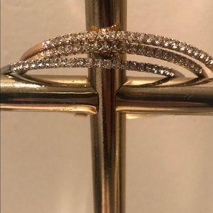 Jewelry - Bundle: Gold, RoseGold, & Silver dressy bangles